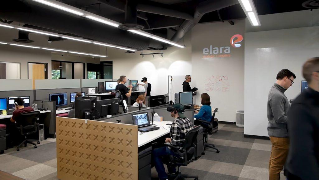 Elara's office