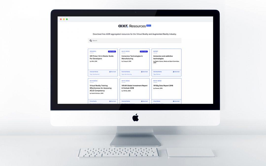 AIXR Launches Free XR Resource Portal