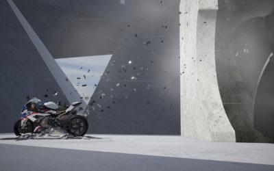 BMW motorbike marketing