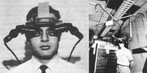 old version of VR headset
