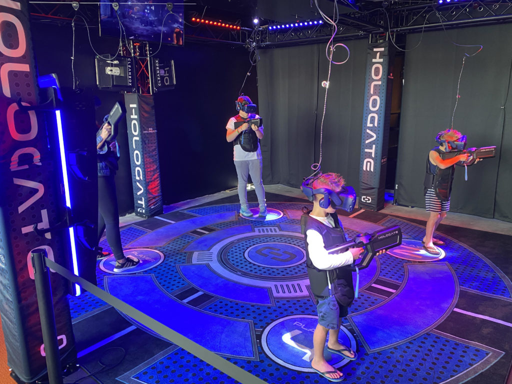 VR arcade making use of Cleanbox hygiene solution
