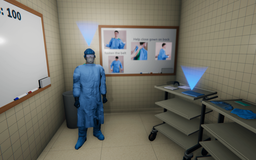 Scalable, Safe & Effective PPE Training using Virtual Reality