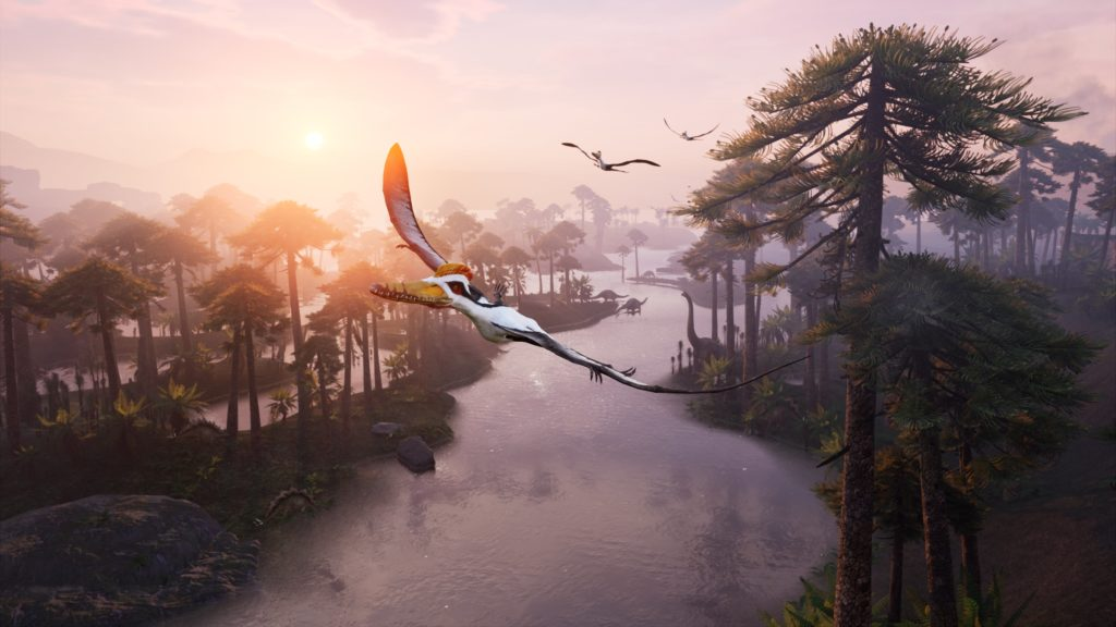 Image from Jurassic Flight