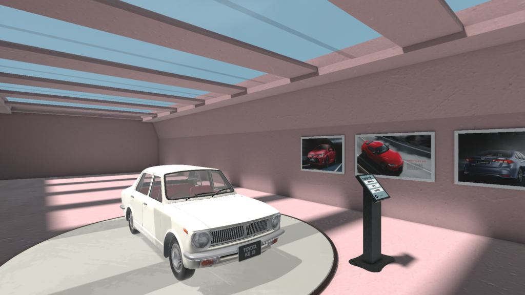 Toyota in VR museum