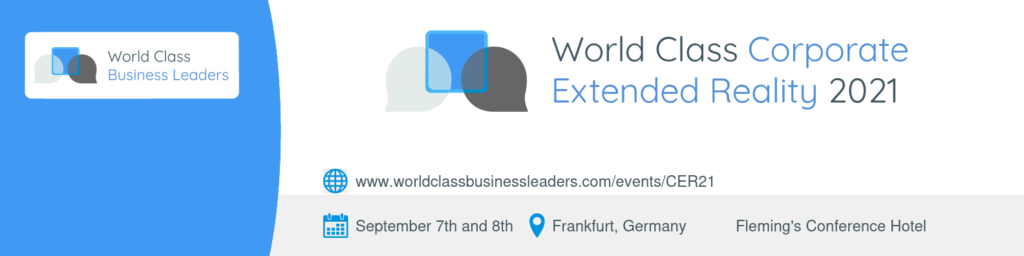 World Class Corporate Extended Reality logo