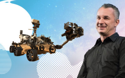 Robots, Rockets & NASA! The new frontier of VR & AR – Field of View with Marco Tempest