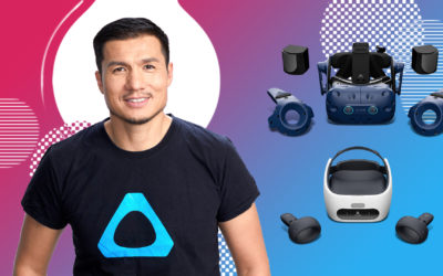 Early years with VR & HTC and future of remote working – Field of View with Alvin Wang Graylin