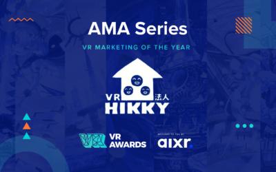 VR Marketing of the Year 2020 Winner AMA