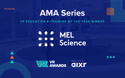 VR Education and Training of the Year 2020 Winner AMA