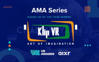Rising VR Company fo the Year 2020 Winner AMA