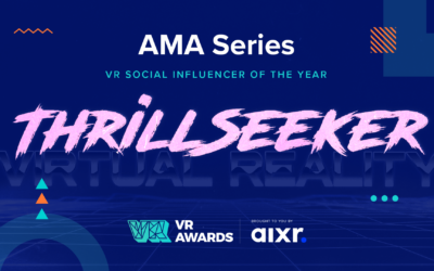 VR Social Influencer of the Year 2020 Winner AMA