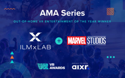 Out of Home VR Entertainment of the Year 2020 Winner AMA