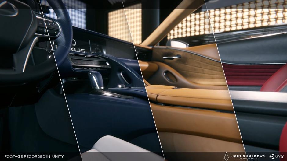Lexus LC 500 in 3D Configurator