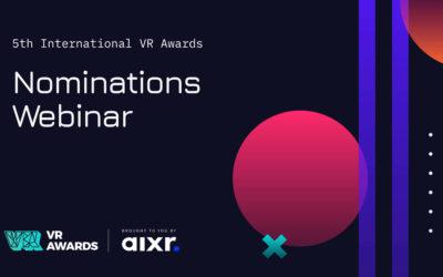 VR Awards Nominations Briefing Webinar #2