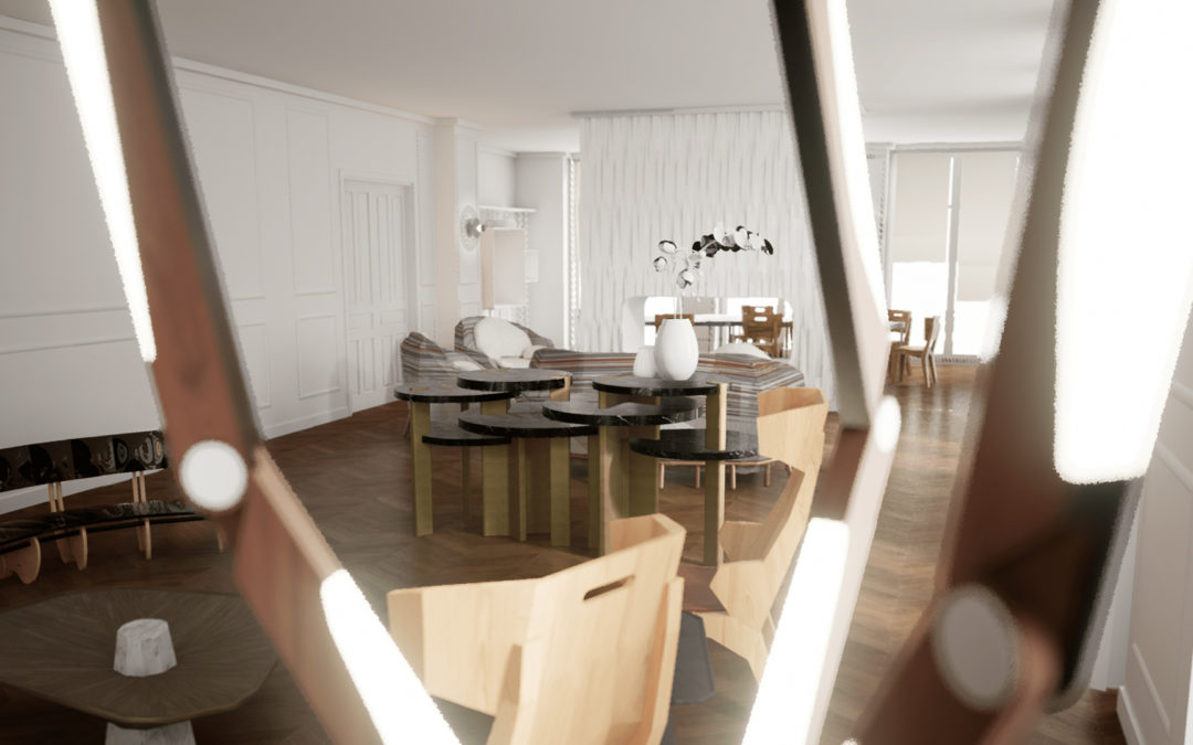 Immersive Solutions for Interior Design Industry: Virtual Showrooms and AR Tools