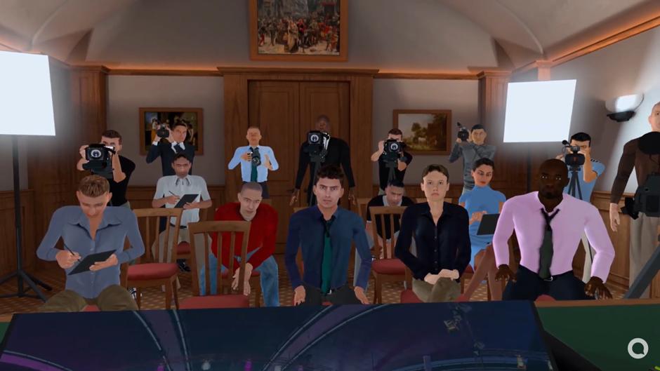 Using Virtual Reality for Media Training
