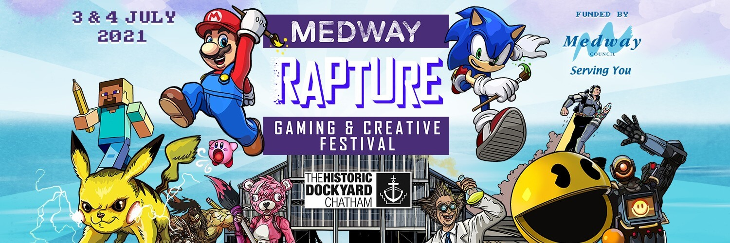 Rapture Gaming and Creative Festival banner
