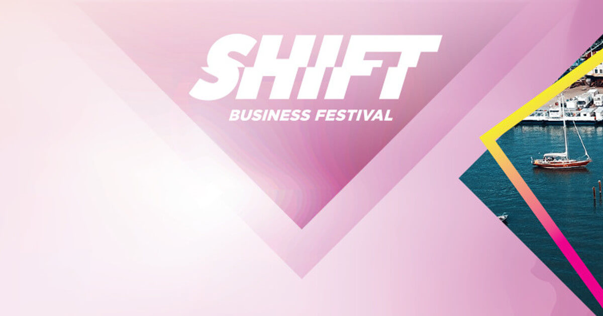 Shift Business Festival Banner