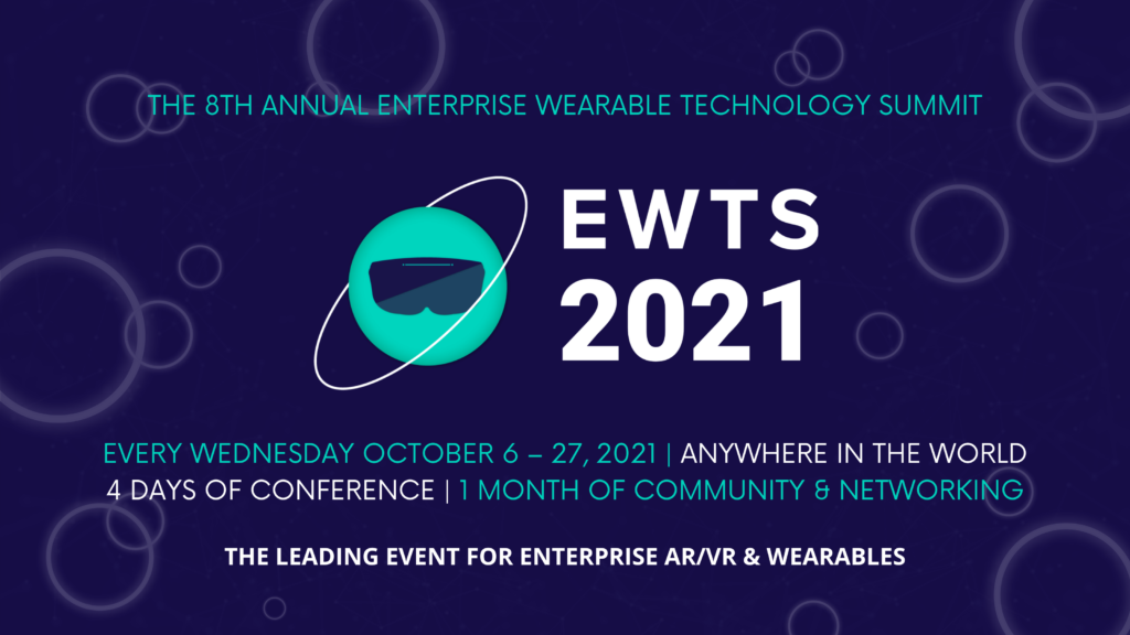 Enterprise Wearable Technology Summit 2021 Banner