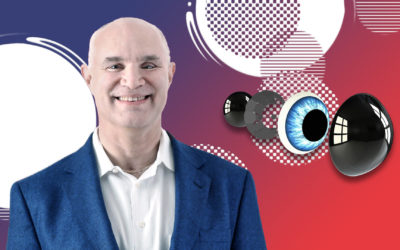 Mojo Vision's Smart AR Contact Lens and Being the Bionic Man – Field of View with Drew Perkins