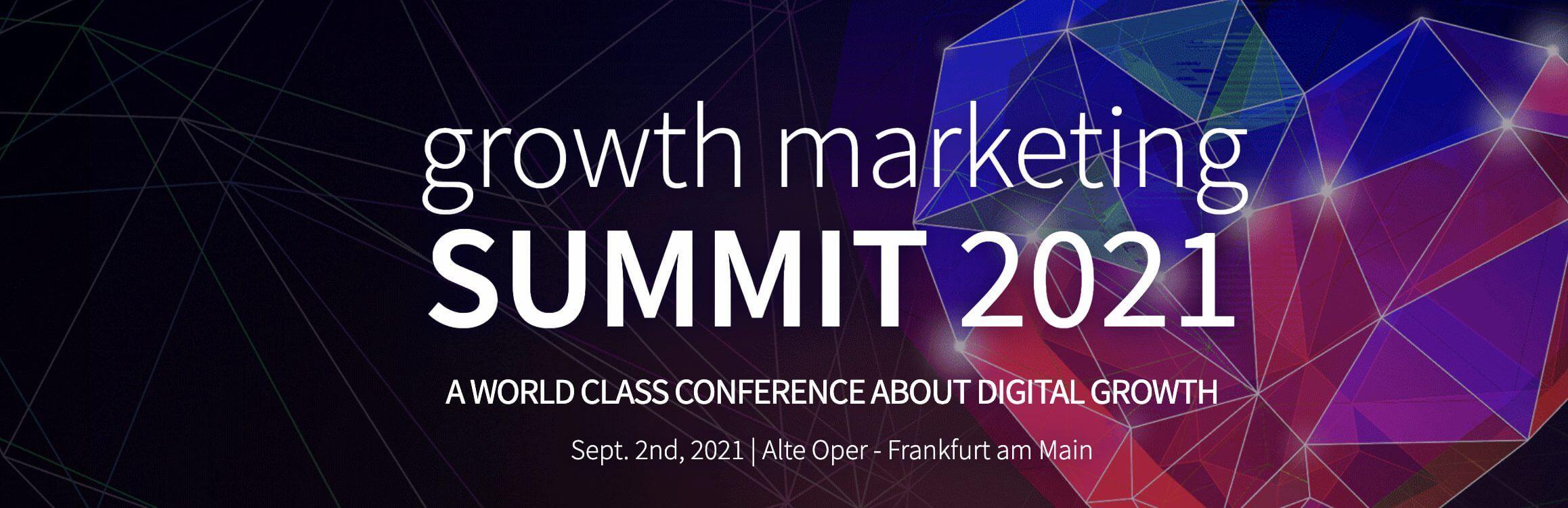 Growth Marketing Summit banner