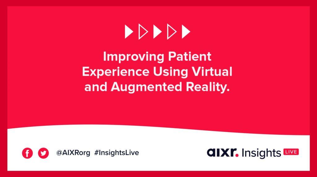 patient experience webinar banner
