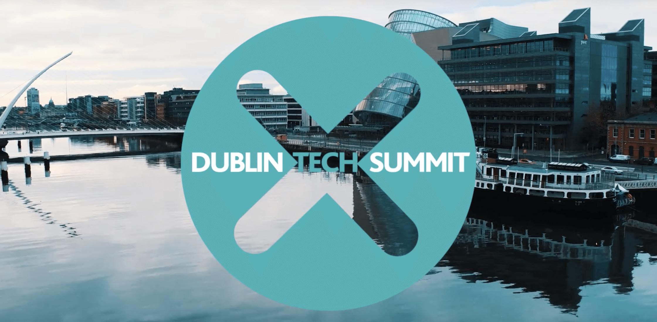 Dublin Tech Summit banner