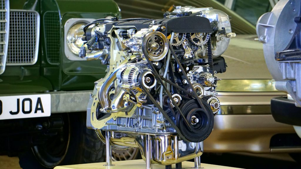 An image showing a car engine as a comparison for a need of understanding of the client's needs before embarking on an extended reality project