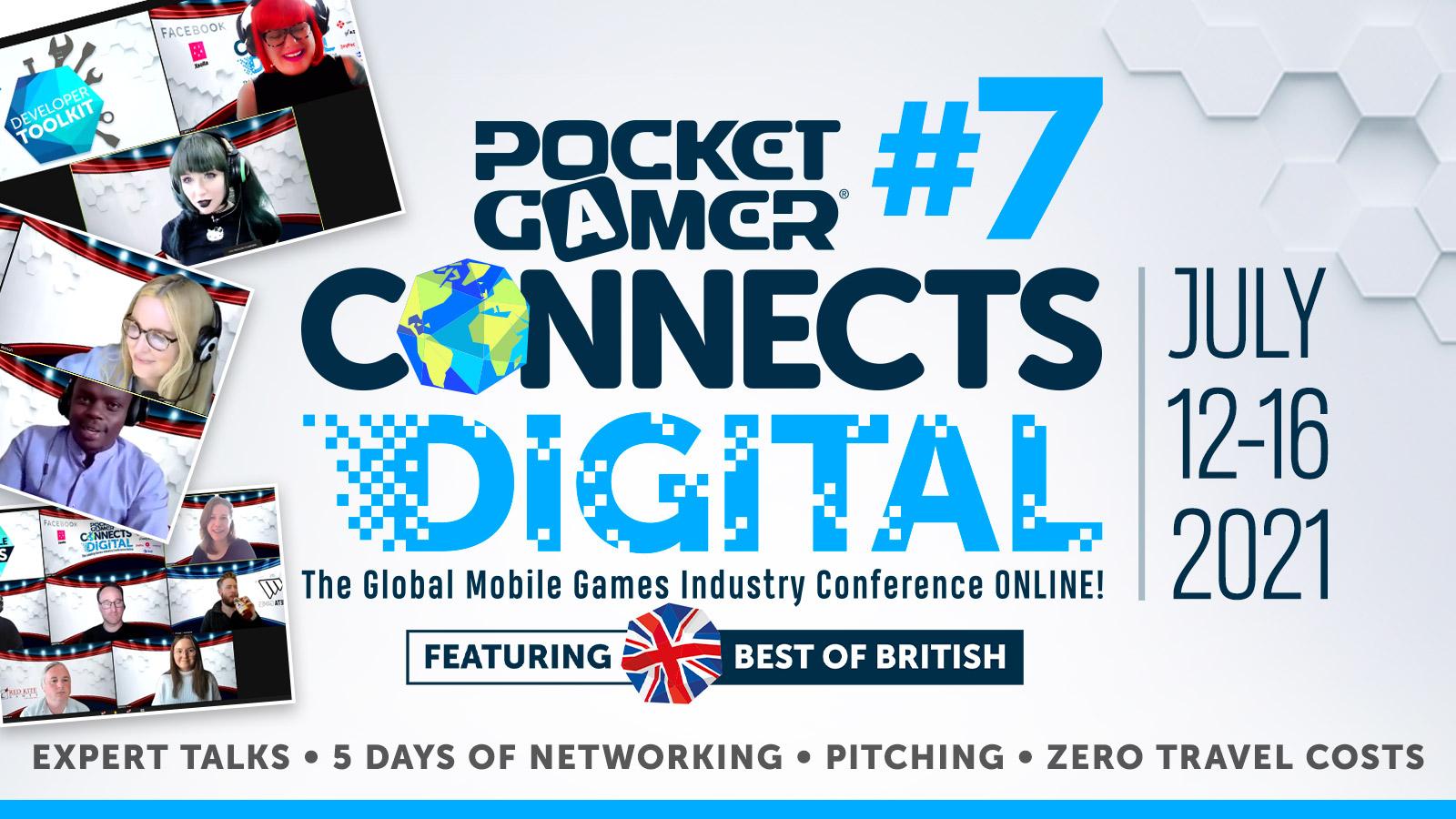 Pocket Gamer Connects Digital #7 banner