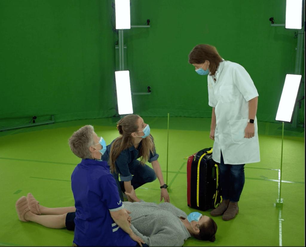 VR medical training production phase