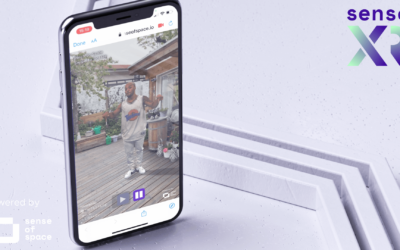 Sense of Space Launches Sense XR And Makes Publishing WebAR Holograms As Easy As Pushing A Button